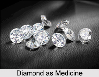 Use of Diamond as Medicines