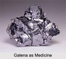 Use of Galena as Medicines