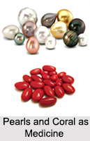 Use of Pearls and Coral as Medicines