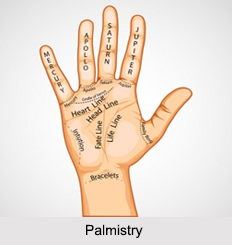 Palmistry, Astrology