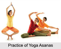 Practice of Yoga Asanas