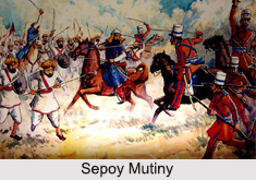 Unrest in Indian States during Sepoy Mutiny