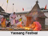 Yaosang Festival, Manipur, Indian Regional Festivals