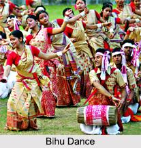 Bihu Dance, Assam, Indian Folk Dance