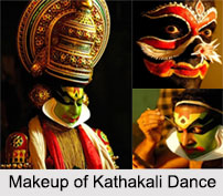 Costumes and Make Up in Kathakali, Indian Dances