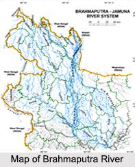 Brahmaputra River, Indian River
