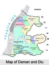 Daman and Diu, Indian Union Territory