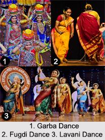 Folk Dances in Western India, Indian Dances