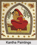 Folk Paintings of West Bengal, Indian Paintings
