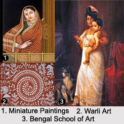 Traditional Indian Painting, Indian Paintings