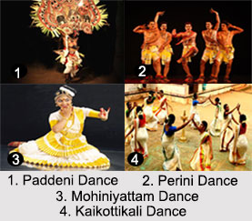 South Indian Dances, Indian Dances