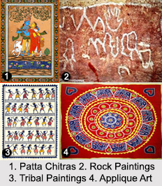 Paintings of Odisha, Indian Paintings