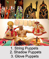 Indian Puppetry, Indian Dances