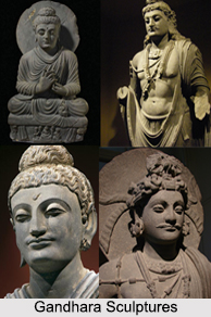 Gandhara School of Art and Sculpture, Indian Sculpture