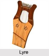 Lyre, String Instrument