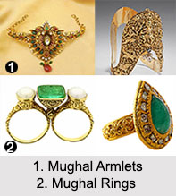 Mughal Jewellery for Arm and Foot, History of Indian Jewellery