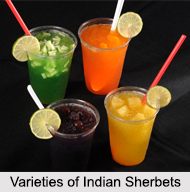Recipes of Indian Sherbets