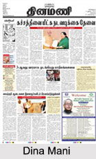 Tamil Language Newspapers, Indian Media