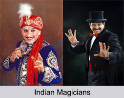 Indian Magicians, Indian Personalities