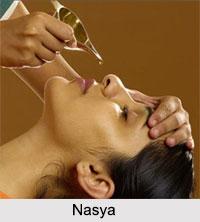 Nasya, Treatment in Ayurveda