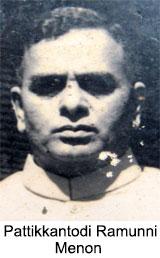 Pattikkantodi Ramunni Menon, Malayalam Theatre personality