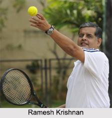 Ramesh Krishnan, Indian Tennis Player