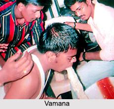 Vamana, Treatment in Ayurveda