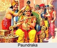 Paundraka, Mahabharata