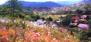 View of Itanagar