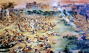 Jalianwalabagh war Amritsar massacre, Indian History