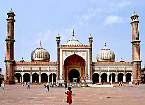 Sculpture of Jama Masjid, New Delhi