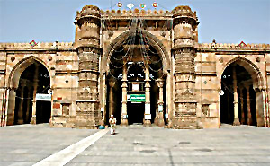 Jami Masjid at Broach in Gujarat