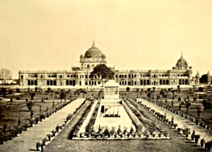 Kaiserbagh, British India
