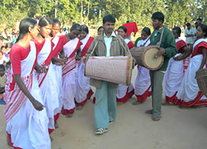 Traditional Costume of  Jharkhand