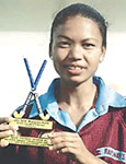 Jyoti Sunita Kulu received the Arjuna Award for  Women hockey of 2007
