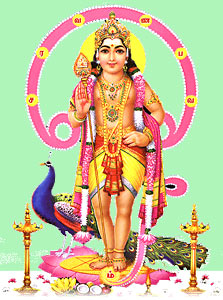 Kartikeya, Hindu God Of War