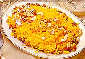Kesar Chawal, Indian Cuisine