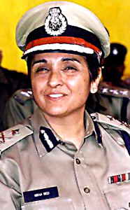 Kiran bedi, IPS, Indian Administration