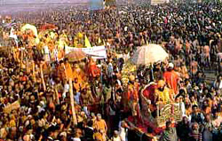 Kumbh Mela Fair at Uttar Pradesh