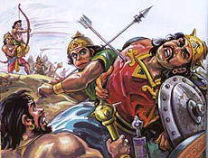 Battle of Lakshmana and Indrajit