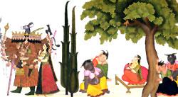 Mandodari always remained Ravana