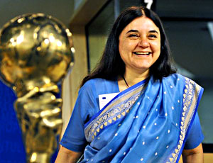 Maneka Gandhi, Indian Politician