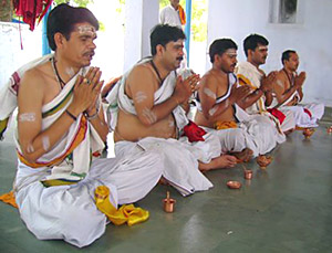 Japayoga  - japa done by recitation of the Mantra