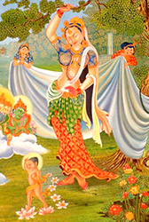 Maya Devi, Mother of Buddha