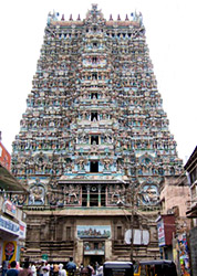 Meenakshi Temple at Madurai -Stone Crafts of Tamil Nadu