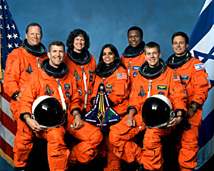Kalpana Chawla's Final Space Mission, Indian astronaut