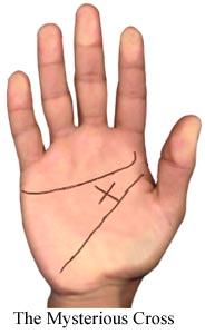 The Mysterious Cross, Palmistry