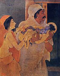 Nandalal Bose Painting