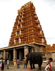 Nanjundeswara temple in Nanjangud, Karnataka, South India