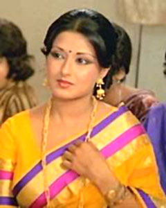 Moushumi Chatterji, Indian Actress